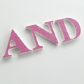 Name Letters for Wall or Door.  6cm.  3 Letters.