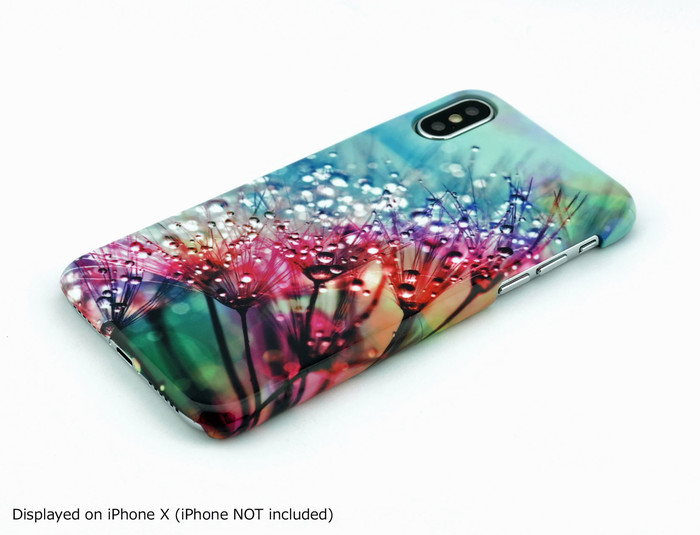 Dew Drops on Dandelion Phone Case - for iPhone & Samsung