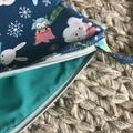 Winter princess cross-body bag