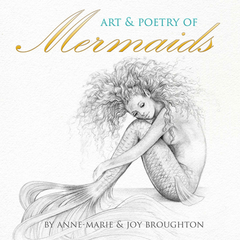BOOK Art & Poetry of Mermaids Mini 6x6 inches