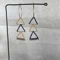 Triangle Triangle Earring