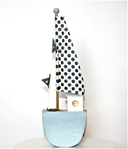 Rustic Sail Boat