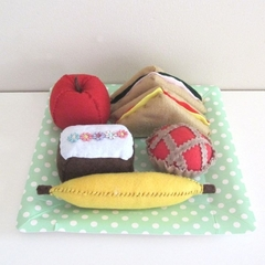 Pretend Food Picnic Set