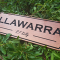Timber Sign Carved from Hardwood Made in Australia 600 x 185mm, Property Sign