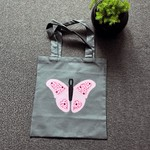 Toy/Library Pink Butterfly Bag for Children
