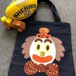 Toy/Library Clown Orange Hat Bag for Children