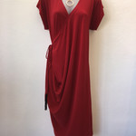 Funky side-drape Dress