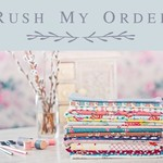 RUSH MY ORDER- within Australia only, expedited order, made to order quickly.