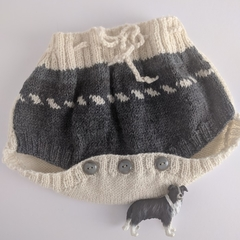 Traditional woolly Nappy cover or 'soaker'
