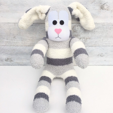 'Bernie' the Sock Bunny - Easter - *READY TO POST*