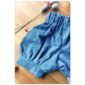 GREY DAYZ linen look bloomer shorts, sz 000