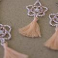 Sea Star Beaded Earrings