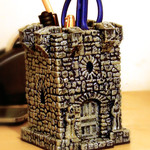 Medieval Stationery holder