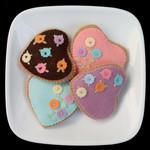 Heart Cookies Felt Food