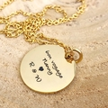 Kids Art Necklace, Your Childs Drawing, Mothers Day Gift, Personalised Jewellery