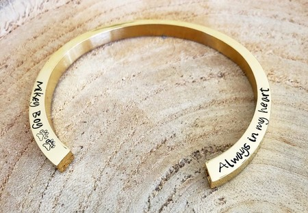 Cremation Bracelet, Bangle Cuff, Urn Bangle, Urn Jewellery, Pet Memorial