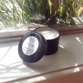 Fresh Coffee Scented 100% soy wax travel tin candle. 4oz, 92g, small, gift