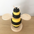 Bee stacker. (9 pieces)