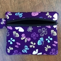 Butterfly Coin Purse - Purple