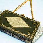 Queen Elizabeth Novel Bag - John E. N. Hearsey - Bag made from a book