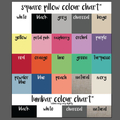 Date & full names couples pillow, perfect for 2nd cotton anniversary