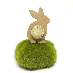 Bunny Brooch - Lemon Blossom