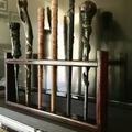 Wand display rack