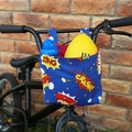 Handlebar Bag | Scooter Bag | Bike Bag | Superhero | Free Shipping