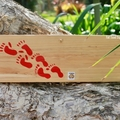 We Like To Sleep Around Reclaimed Timber Sign