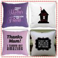 Perfect Mother's Day/Mom/Mum/Grandma personalised pillow/keepsake