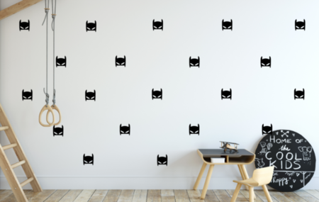 Batman Mask Wall Decal - Choose Your ColoUr, Batman Wall Decals, Batman Decals