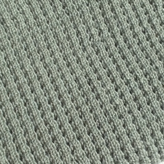 Knitted Baby Pram Blanket - Pale Green Pure Australian Merino Wool