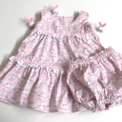 "Size 12 Months - ""Little Cuties"" with Panties"