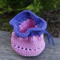 Crochet bird finger puppets