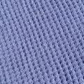 Baby Blanket - Knitted Blue Pure Australian Merino Wool.