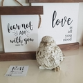 Rustic timber poster - Love is all you need - Wooden sign - Hanging canvas sign