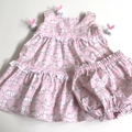 """Size 12 Months - """"Little Cuties"""" with Panties"""