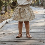 Nutmeg Autumn floral skirt