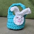 Crochet Mini Easter Basket