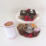 Easter High Tea Chocolate Pretend Food Set
