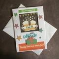 'Hey Birthday Boy - Let's Celebrate' 21st Birthday Card