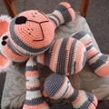 Lance: hand crocheted Lion cub by CuddleCorner: OOAK, Washable, unisex