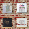 Set of 12 Wall Art Prints with Wooden Frame