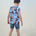 Boy's Summer Tee - Icecream Bill
