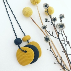 "ABSTRACTion ""Mustard"" Treble Necklace"