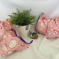 GIFT / PARTY BAGS: Bunny Rabbit (pink)