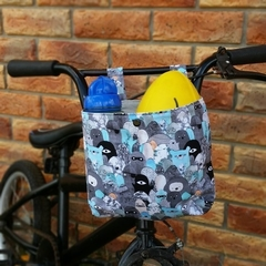 Handlebar Bag | Scooter Bag | Bike Bag | Monsters | Free Shipping
