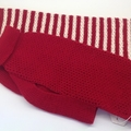 Large Dog jumper/sweater in pure Australian Merino wool - various colours.