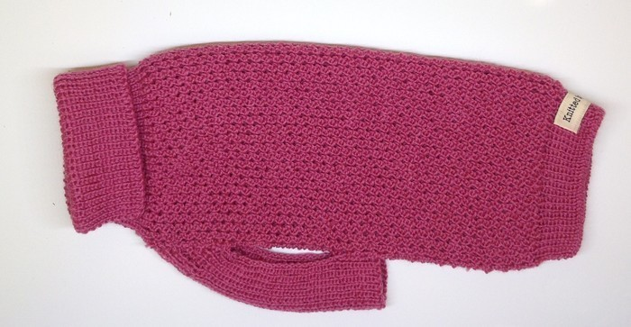 XS Dog jumper/sweater in Australian Merino wool - various colours.