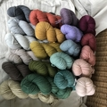 'Blacksmith' 5ply hand dyed superfine merino yarn